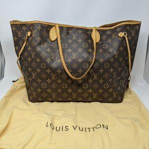 LOUIS VUITTON  Neverfull GM Tote Bag